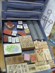 wood mounted stamps