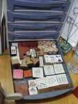 wood mounted stamps and foamy ones