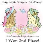 Happileigh Scrappin Challenge