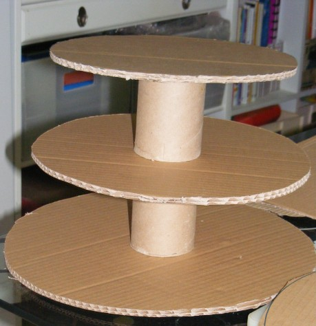how to make a wedding cake stand out of styrofoam diy cupcake stand tutorial 15898