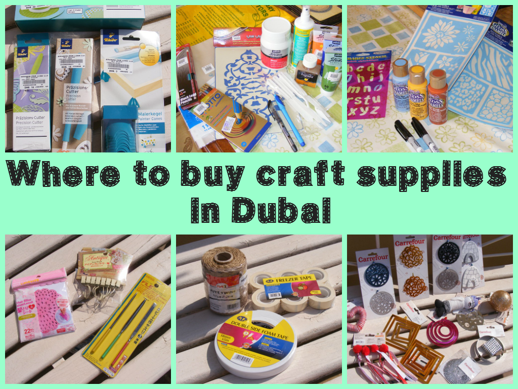 Where Do You Buy Craft Supplies From In Dubai