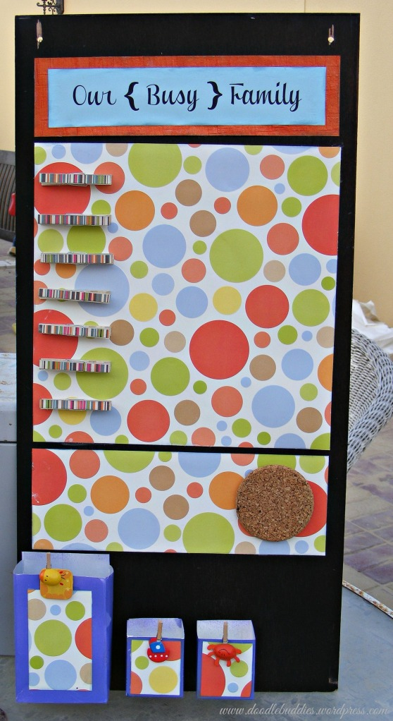 family organization board tutorial