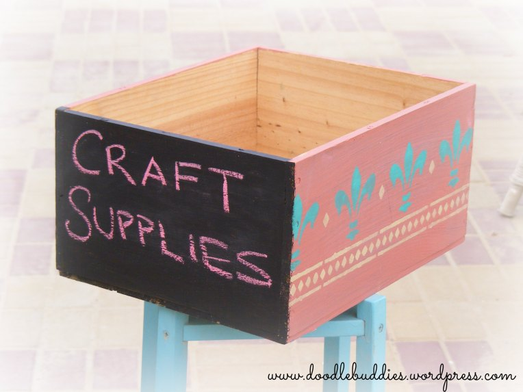 Crate makeover 2