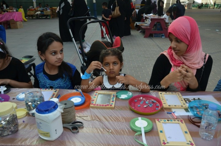 learing art and craft in Dubai