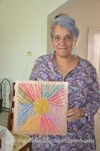yarn craft sunburst