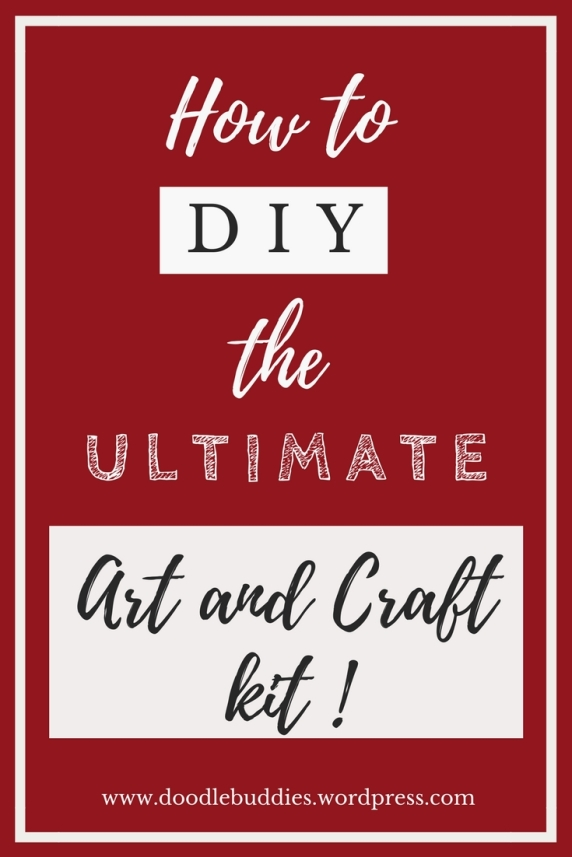 How to diy art and craft kit