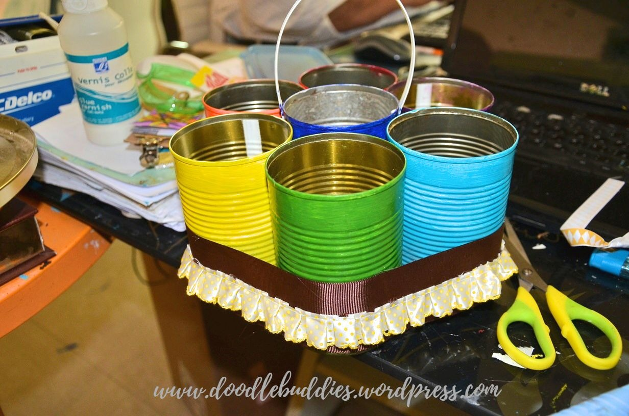 Upcycle Can Stationery Organizer 10