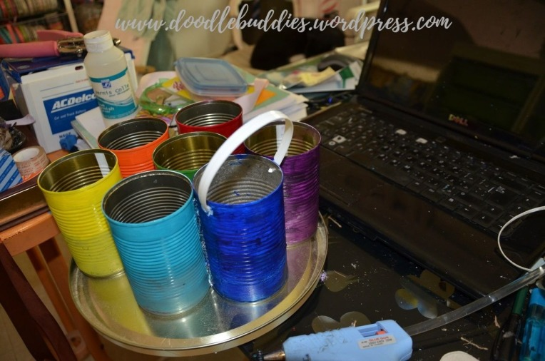 Upcycle Can stationery Organizer 12
