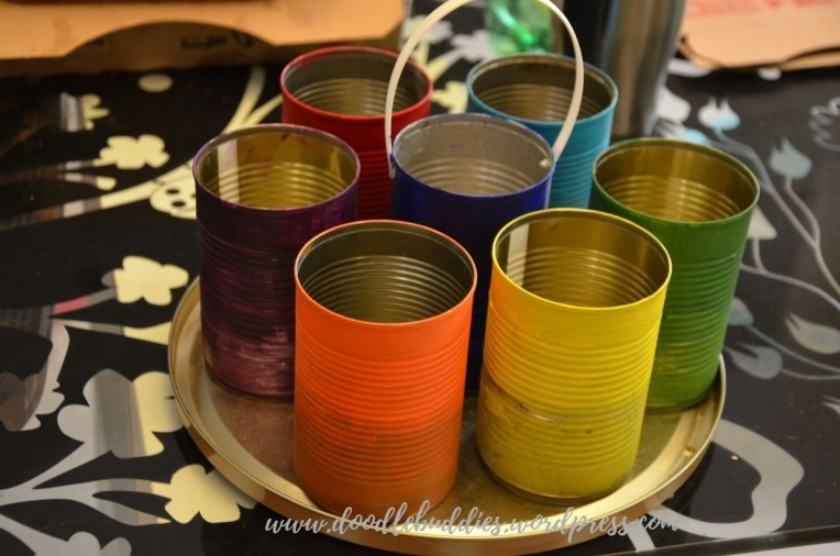 Upcycle Can Stationery Organizer 13