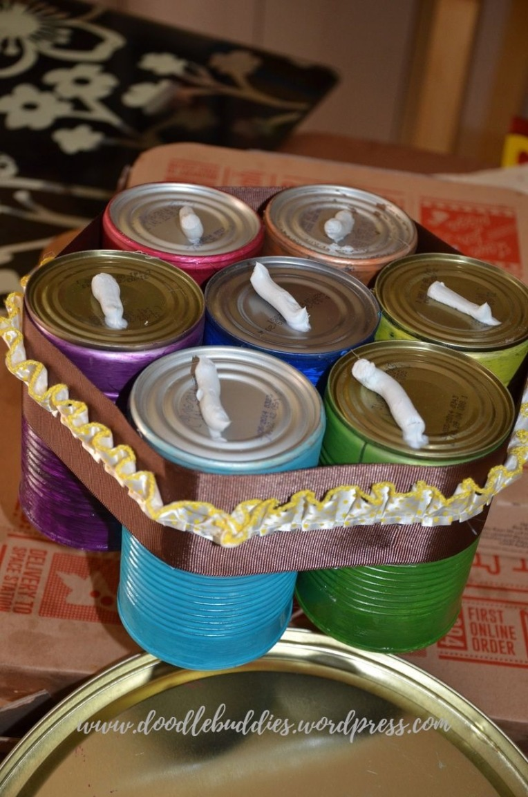 Upcycle Can Stationery Organizer 5