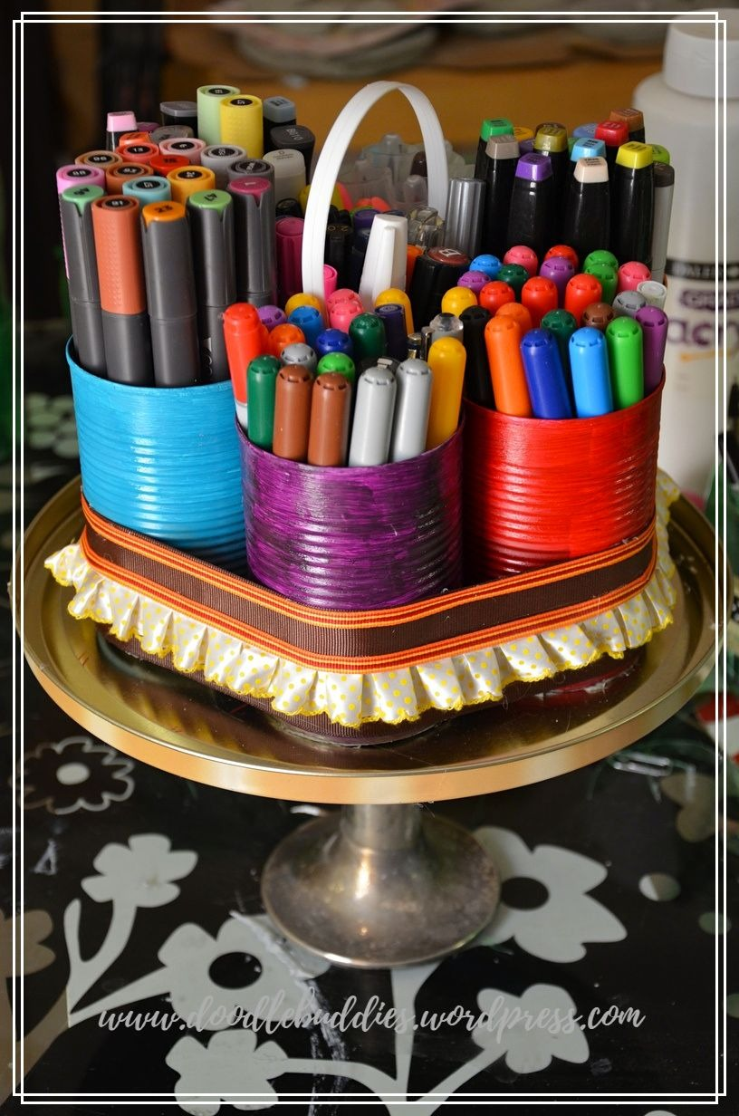 UPCYCLE CAN STATIONERY ORGANIZER 7