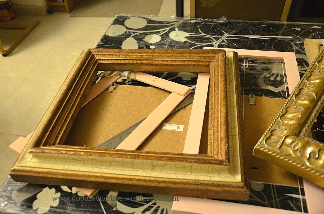 upcycle photo frame 9