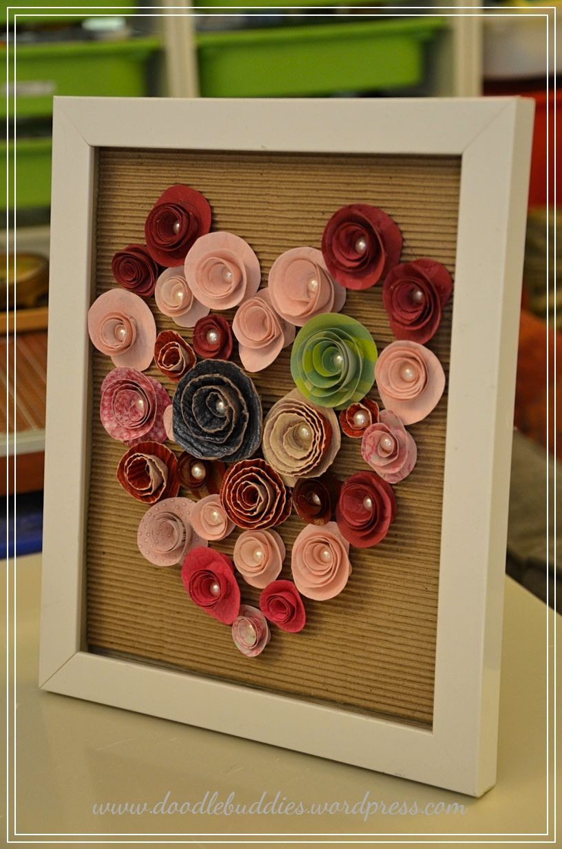 DIY upcycle photo frame 1