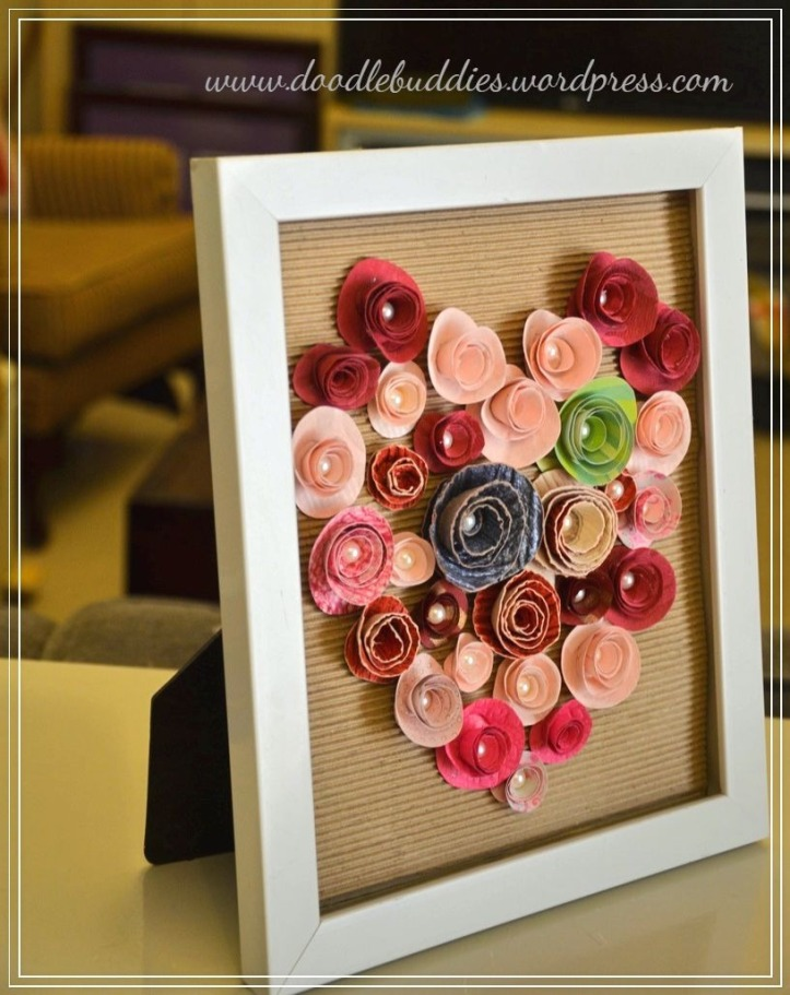 DIY upcycle photo frame 2