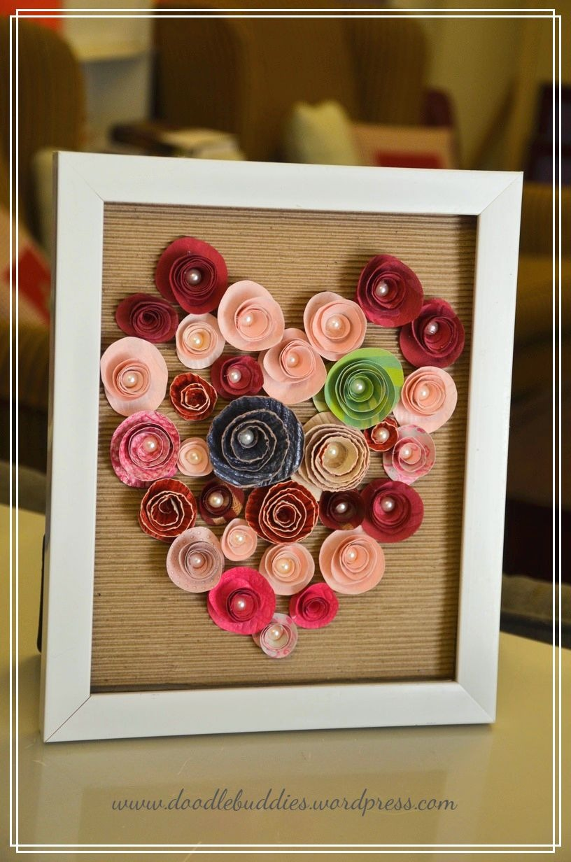 DIY UPCYCLE PHOTO FRAME 91