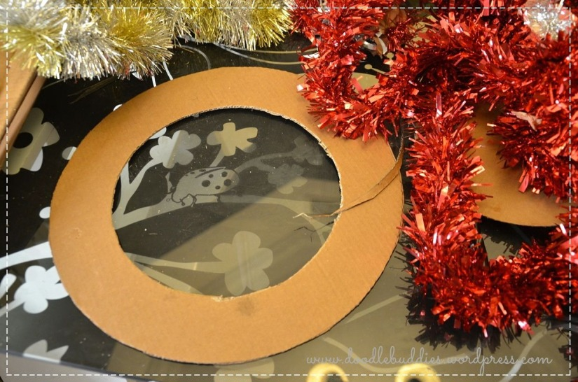 easy way of making wreath