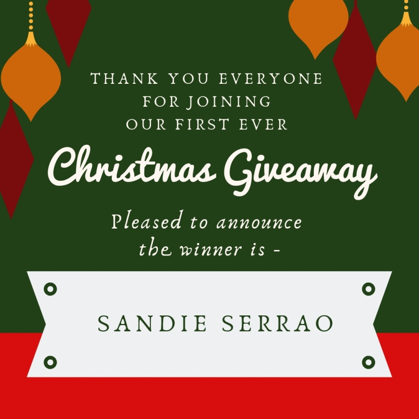 the winner of Giveaway (1)