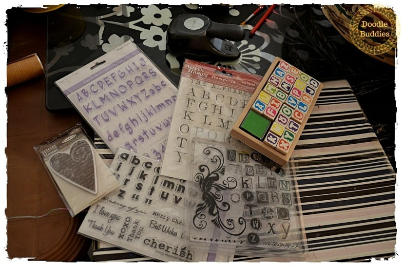 acrylic rubber stamps