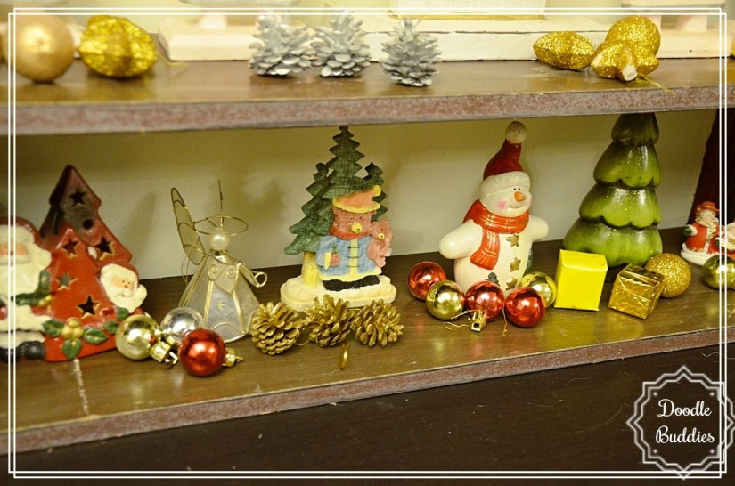 christmas mantle ideas 14