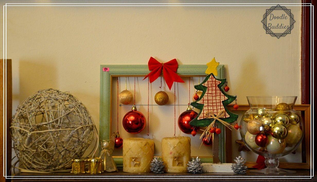 christmas mantle ideas 3