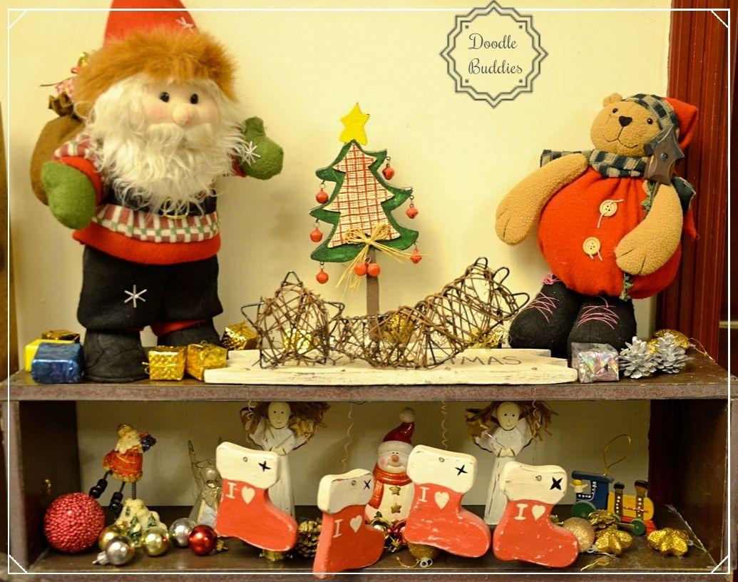 christmas mantle ideas 9