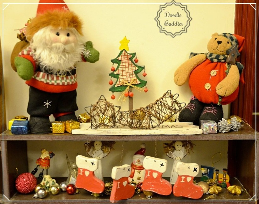 christmas mantle ideas 9