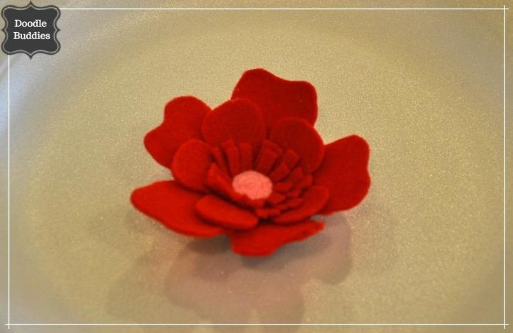 felt flower 1