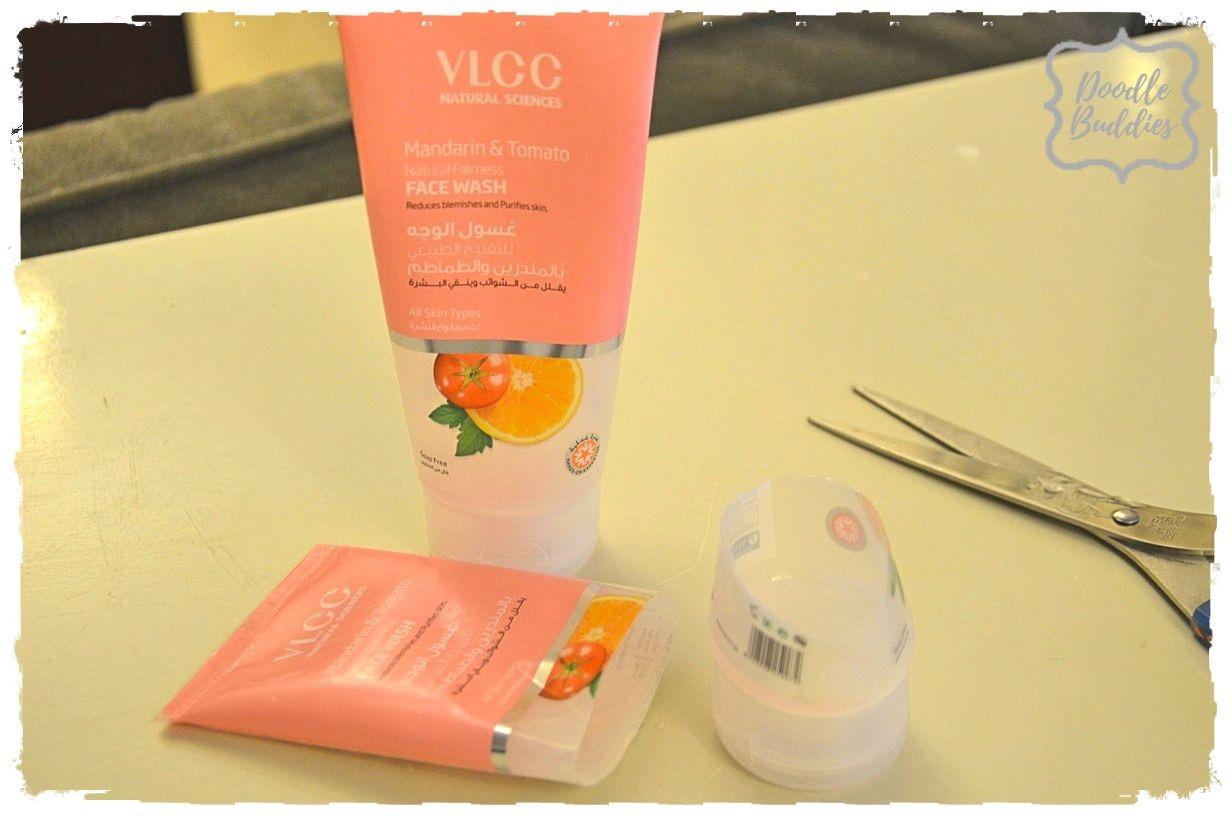 repurpose face wash tube