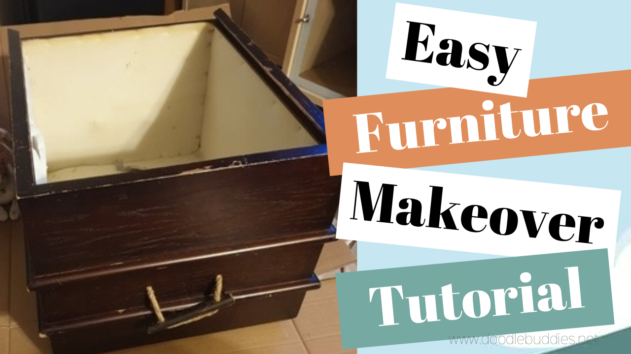 Furniture ( Wooden Chest) Makeover