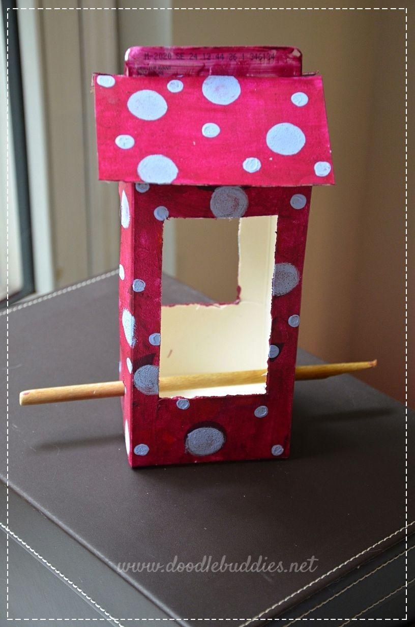 reuse fruit juice carton
