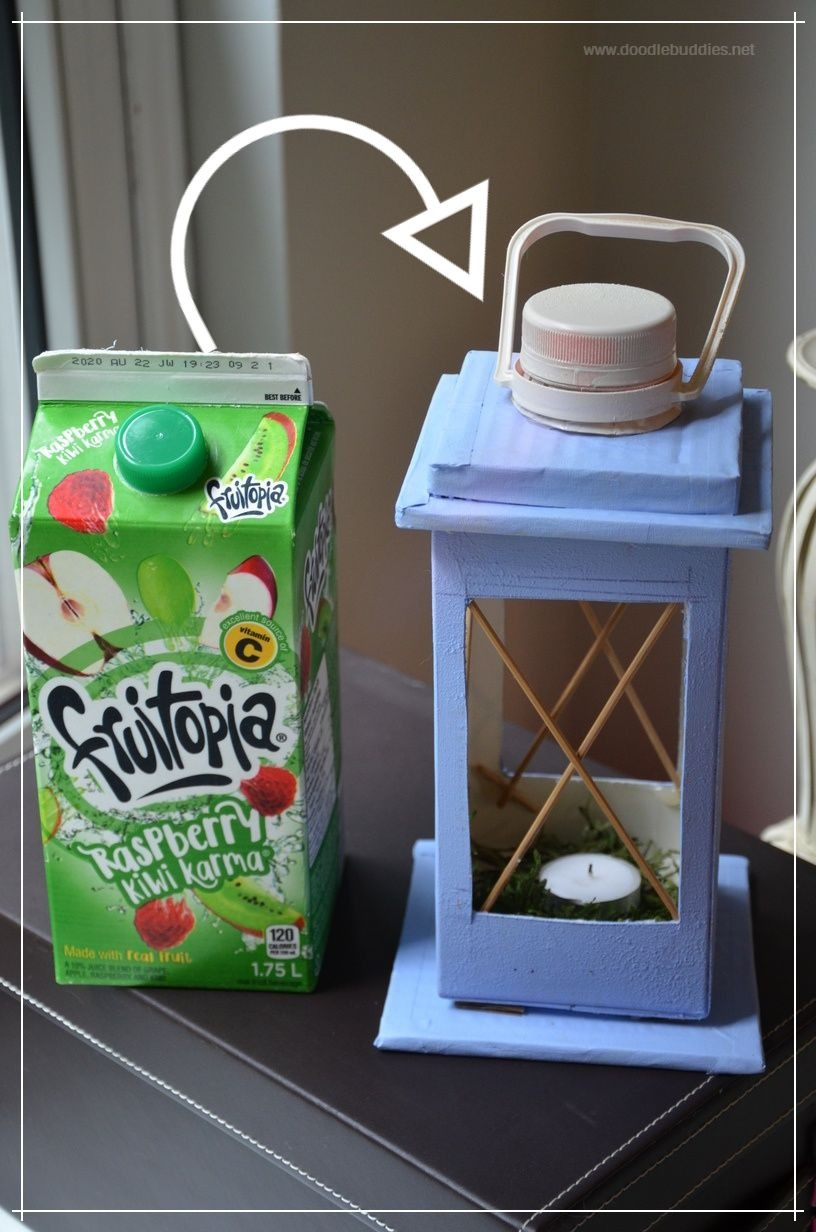 upcycled fruit juice carton