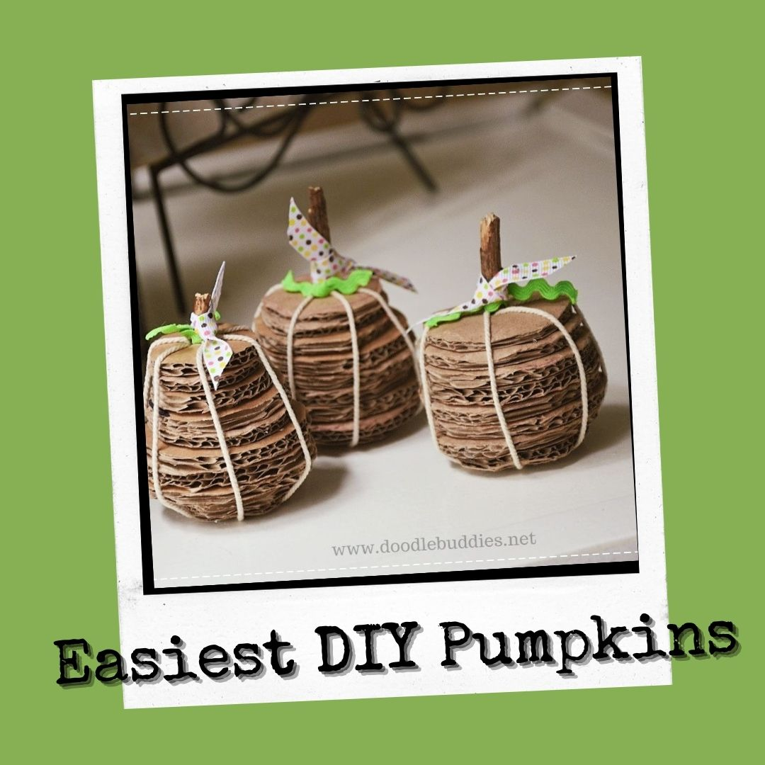 How to make the best DIY pumpkins for Halloween / Easy Family crafts