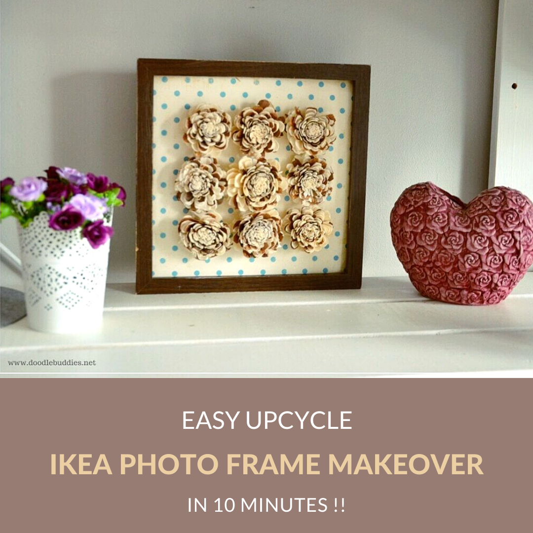 IKEA PHOTO FRAME MAKEOVER / HACK